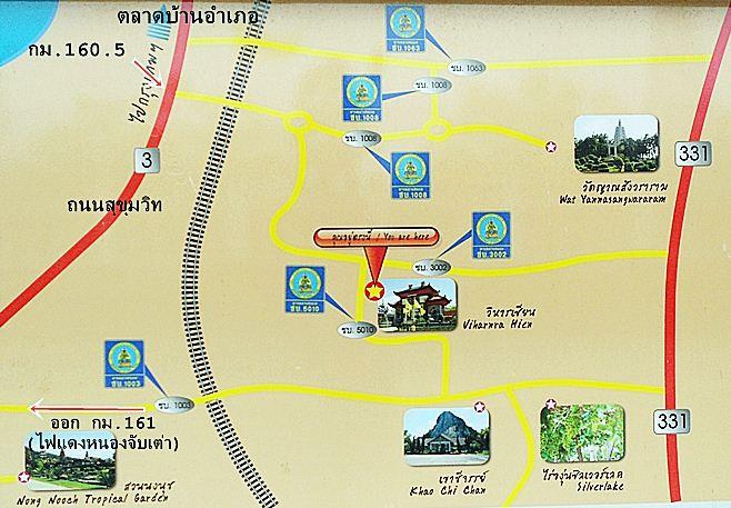 แผนที่วิหารเซียน