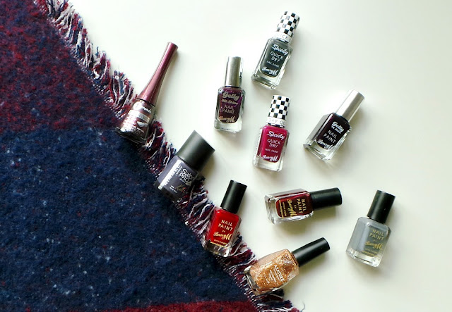 autumnal nail colours