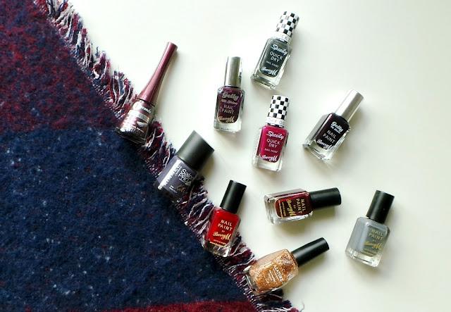 autumnal nail colours