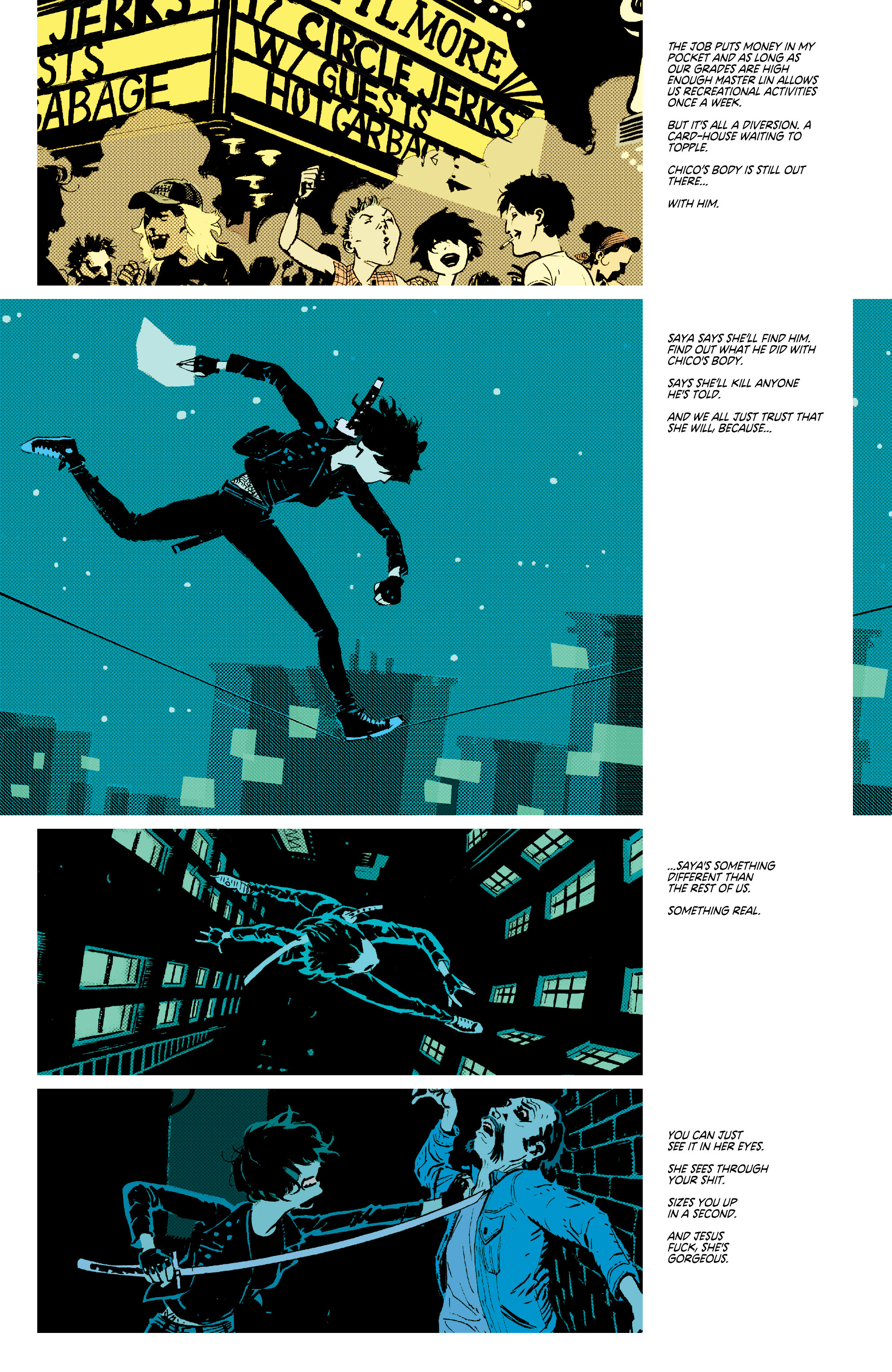 Read online Deadly Class comic -  Issue #7 - 10