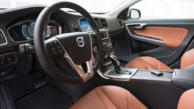 Interior del Volvo S60
