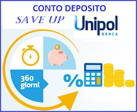 conto deposito save up unipol