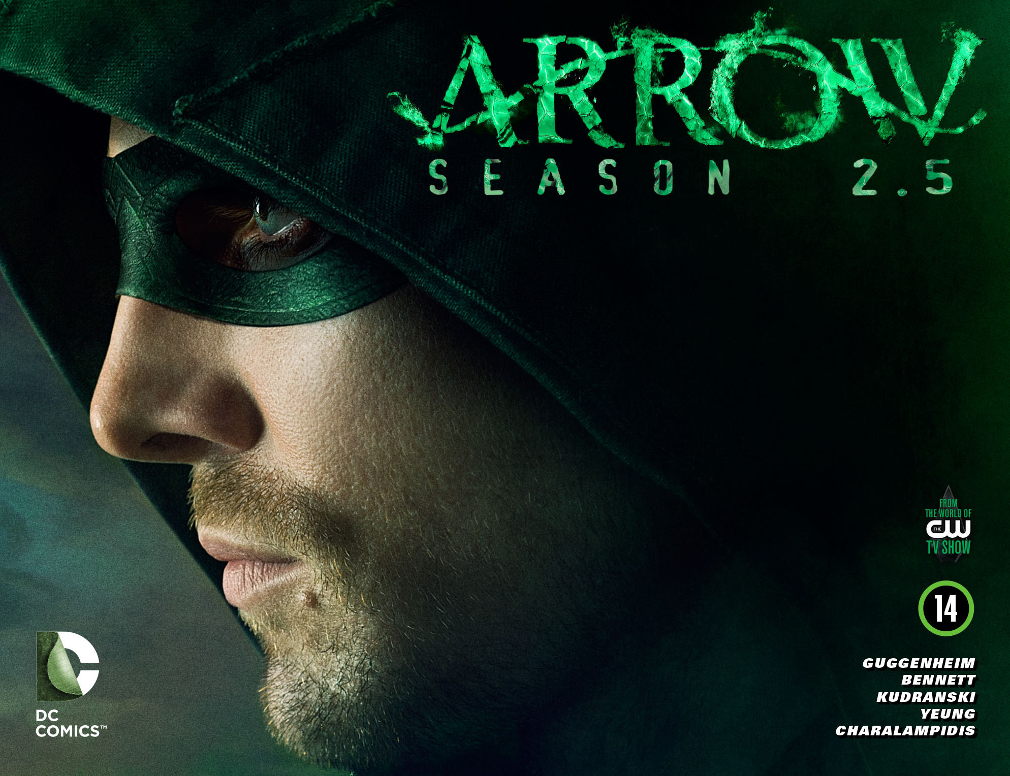 Read online Arrow: Season 2.5 [I] comic -  Issue #14 - 1