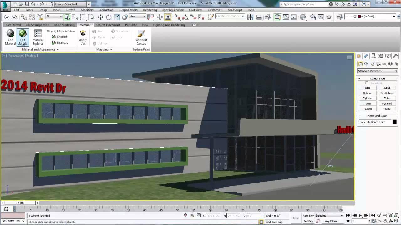 Autodesk 3ds Max Design 2015 Free Download Full Version