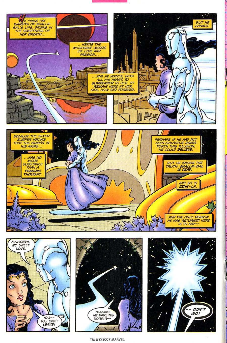 Read online Silver Surfer (1987) comic -  Issue #131 - 20