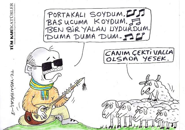 fatih portakal tayyip erdoğan karikatür