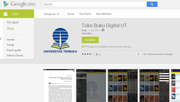 Bahan ajar digital Universitas Terbuka