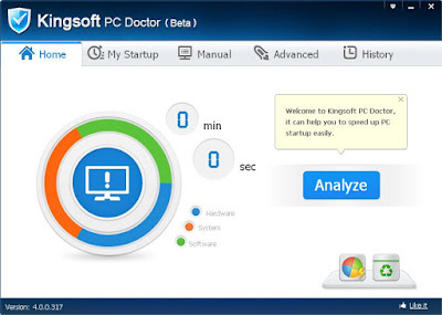 Kingsoft PC Doctor Free Download