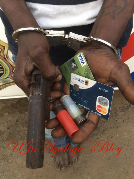 Police Arrest Suspected Armed Robber In Bayelsa