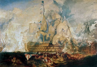 La bataille de Trafalgar - William Turner