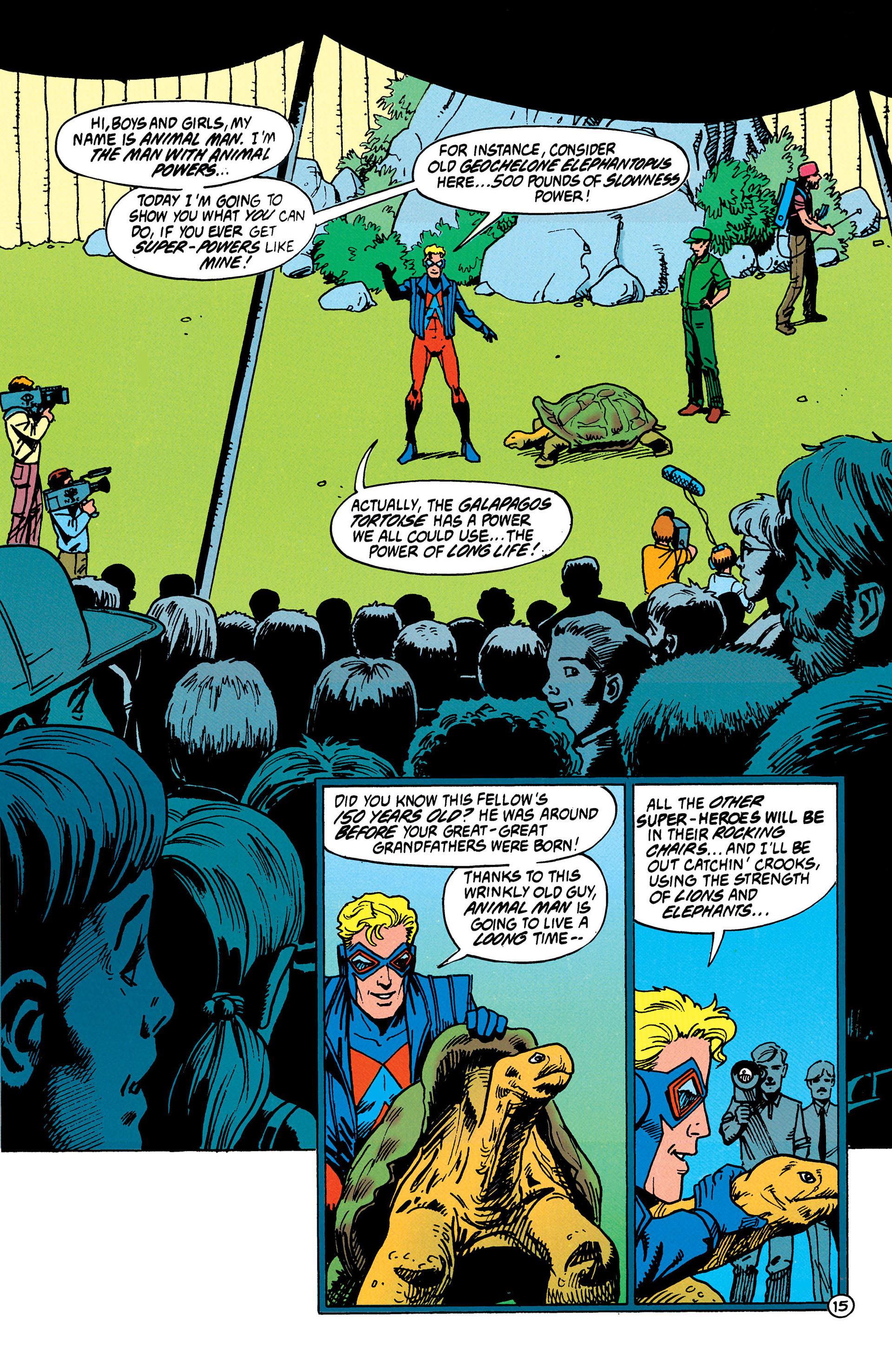 Read online Animal Man (1988) comic -  Issue #37 - 16