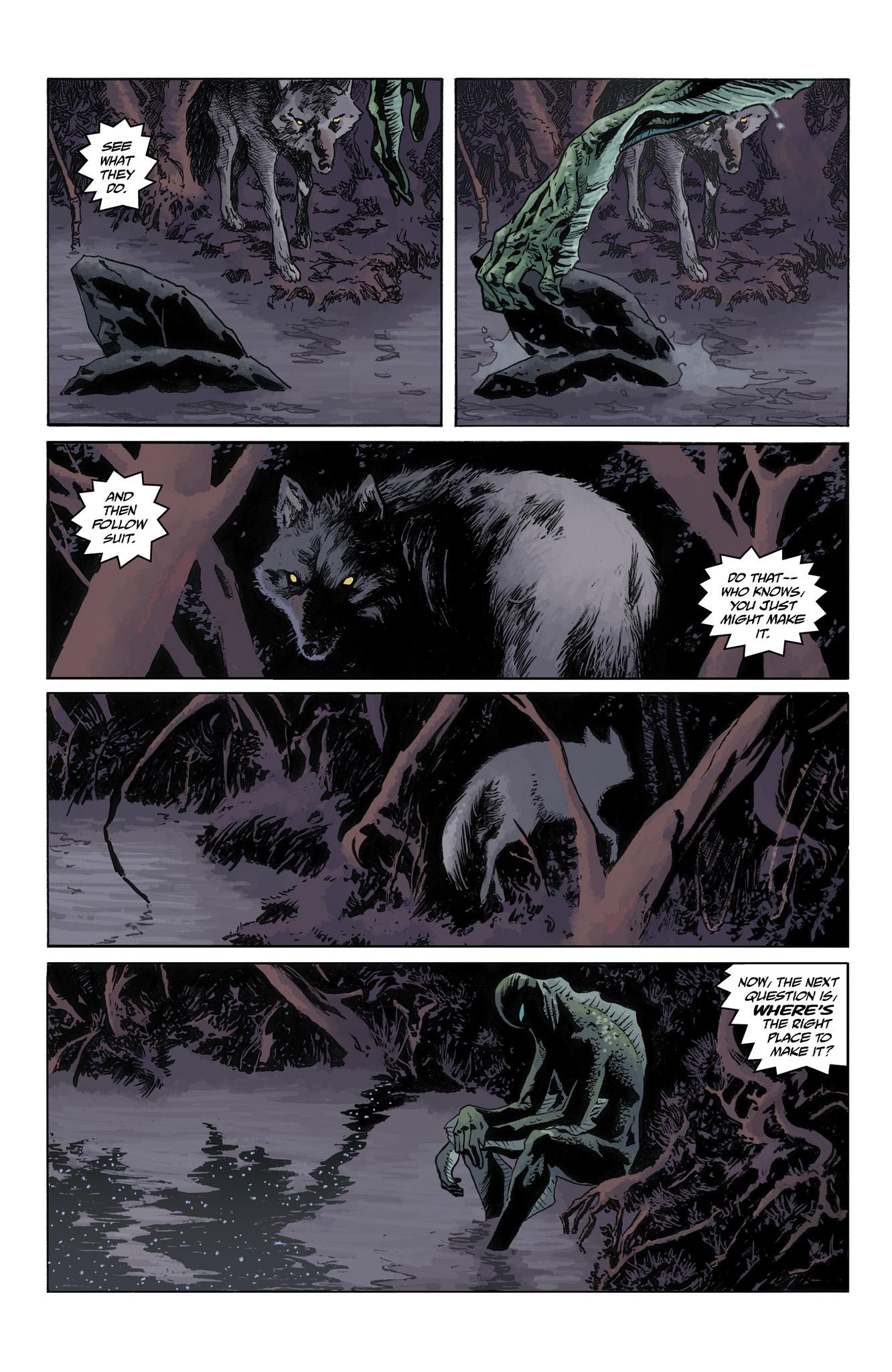 Read online Abe Sapien comic -  Issue #4 - 7