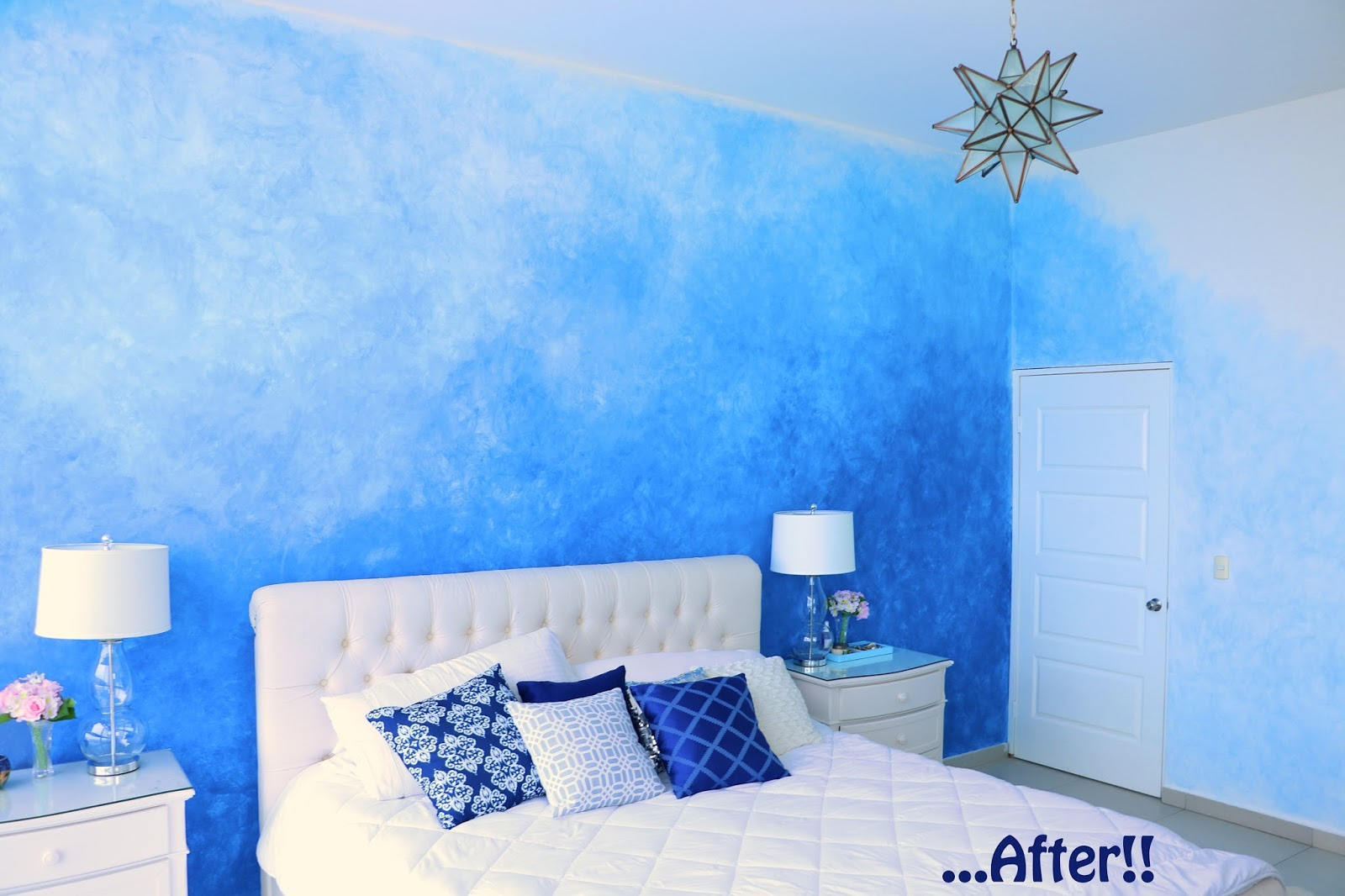 Click through to see the full makeover of this master bedroom