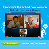 Download do novo Skype Beta