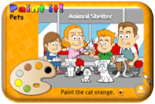 http://learnenglishkids.britishcouncil.org/en/archived-word-games/paint-it/pets