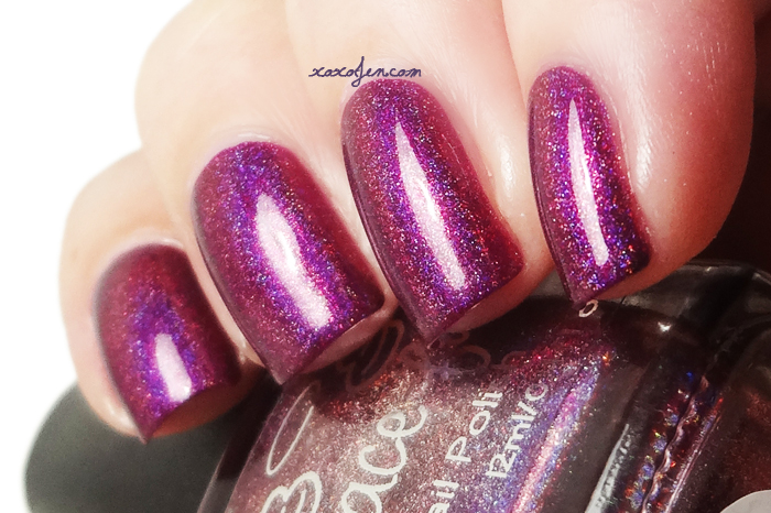 xoxoJen's swatch of Grace-Full The Vampire Countess