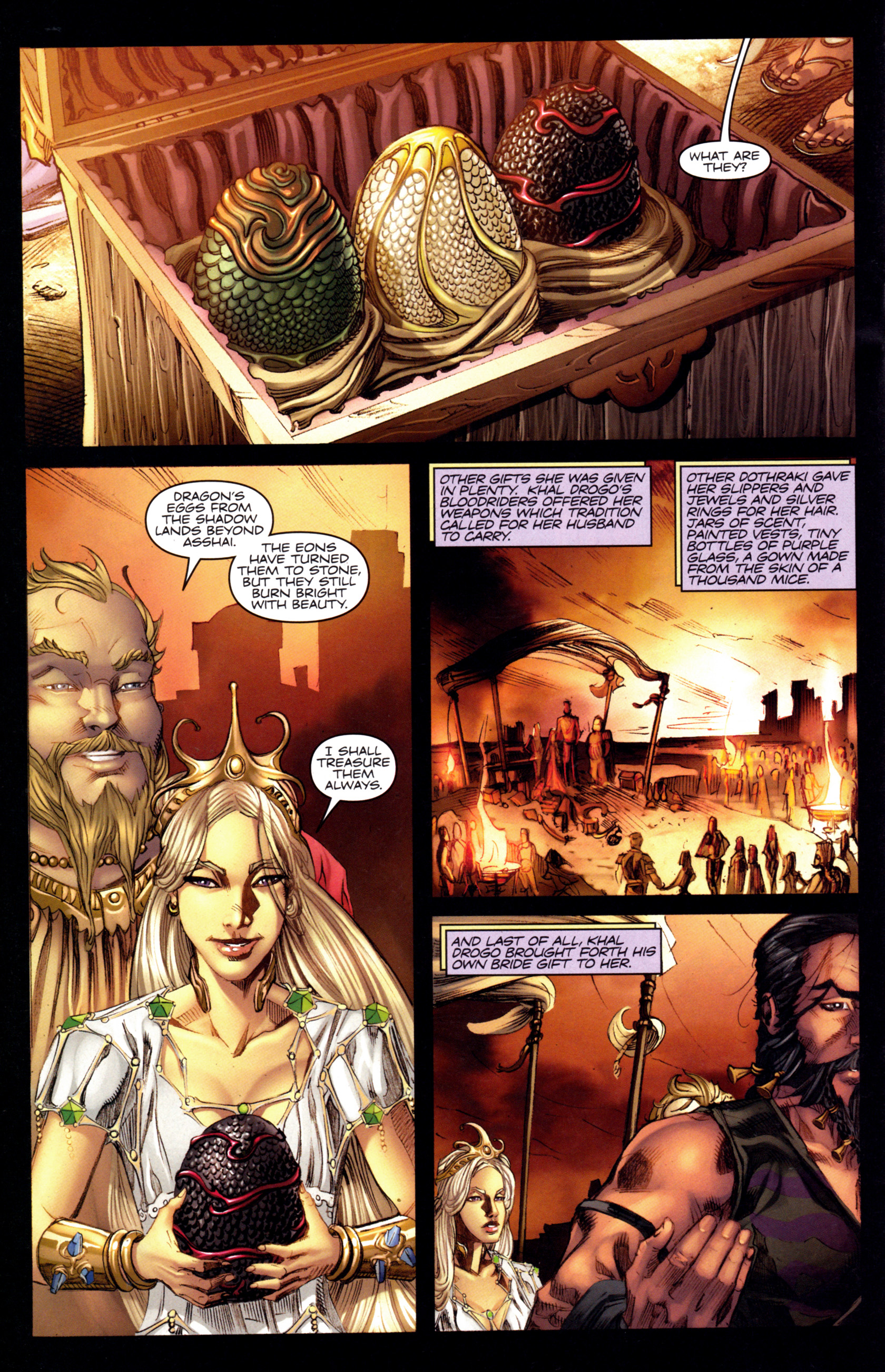 Read online A Game Of Thrones comic -  Issue #3 - 26