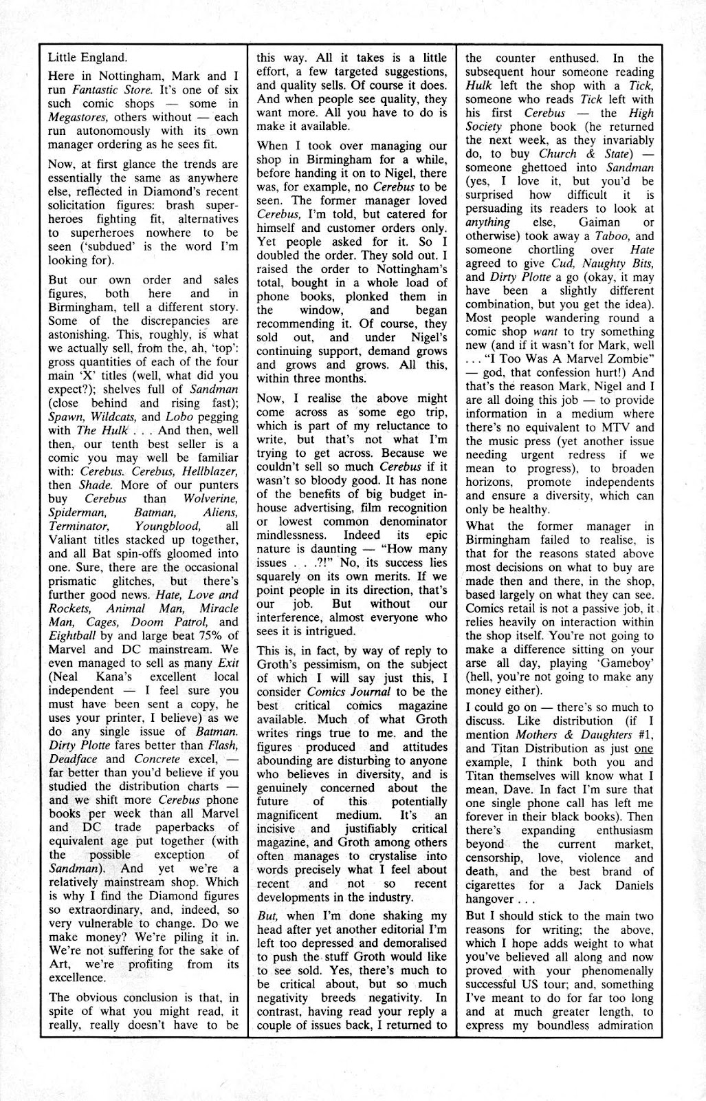 Cerebus Issue #165 #164 - English 30