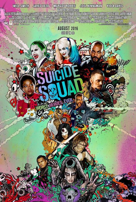 ตัวอย่างหนังใหม่ : Suicide Squad (ทีมพลีชีพ มหาวายร้าย) ตัวอย่างที่ 4 ซับไทย poster5