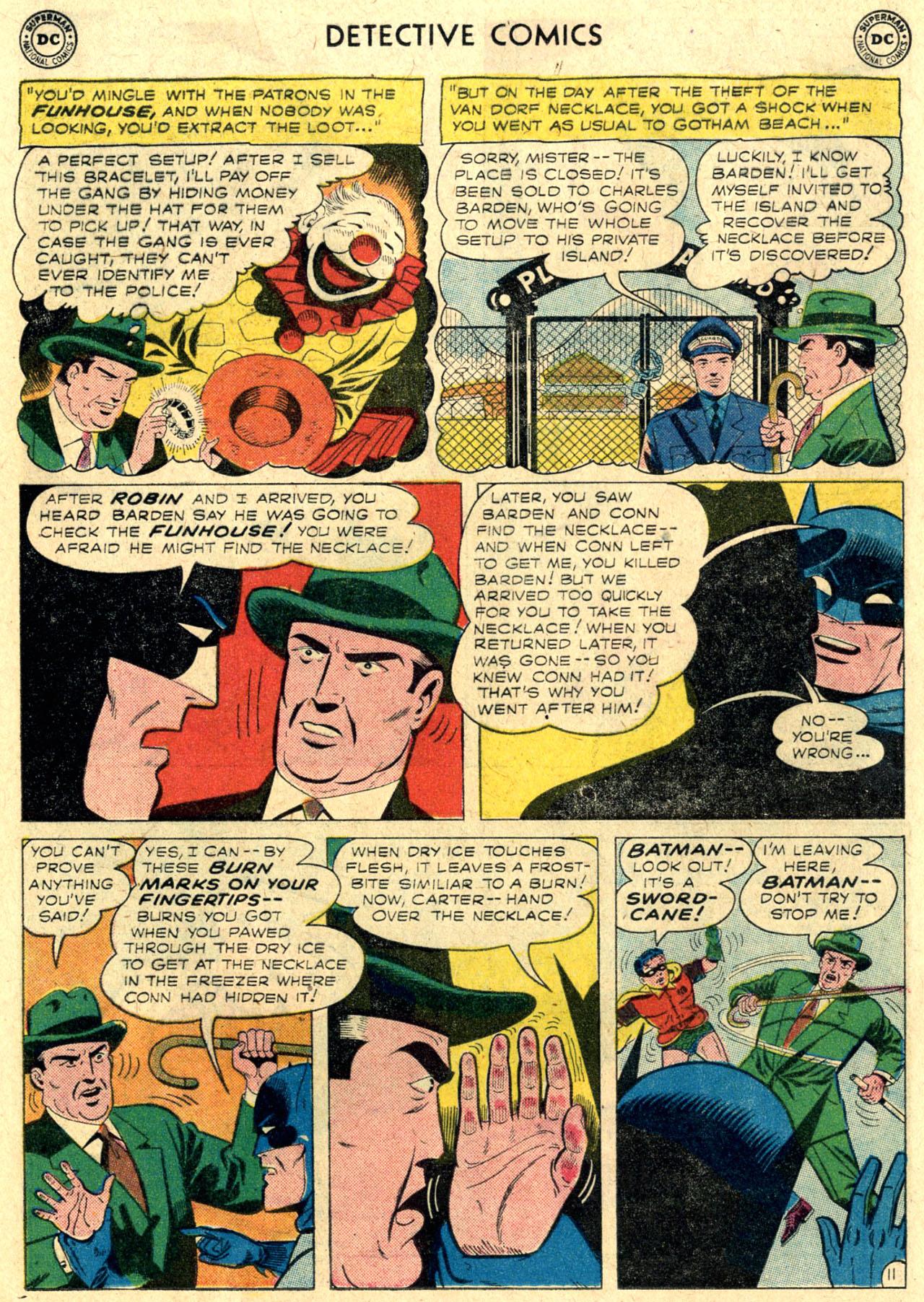 Detective Comics (1937) 264 Page 12