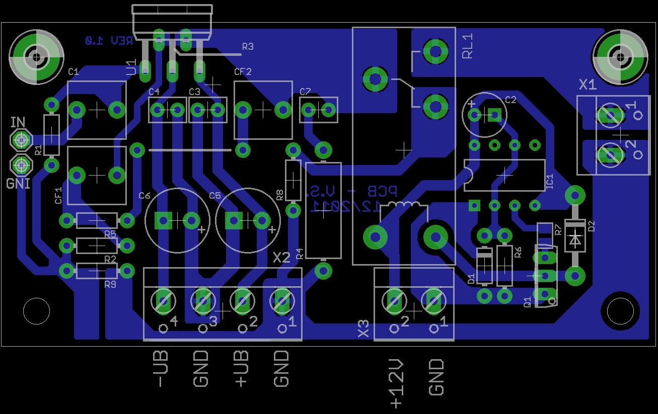 I'm Yahica: 12v Audio Amplifier Circuit