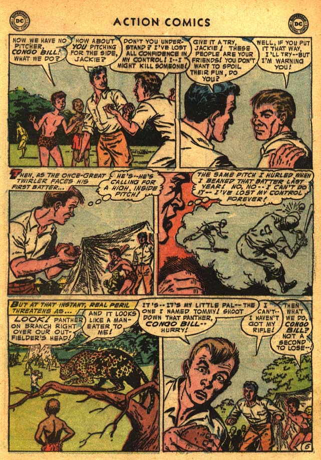 Read online Action Comics (1938) comic -  Issue #201 - 21