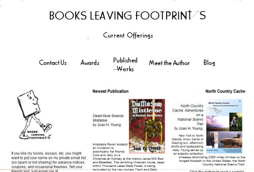 Books Leaving Footprints web site