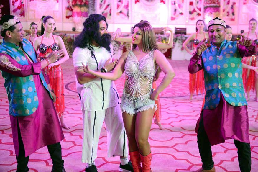 Rakhi Sawant Playing 'Papa's Angel' Honeypreet Insan