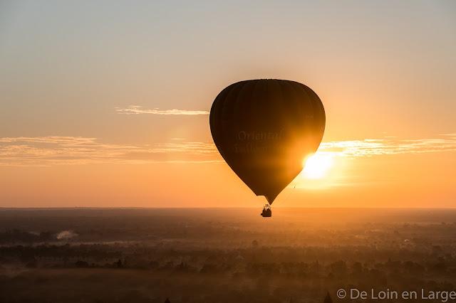 Plaine de Bagan en ballon - Myanmar - Birmanie