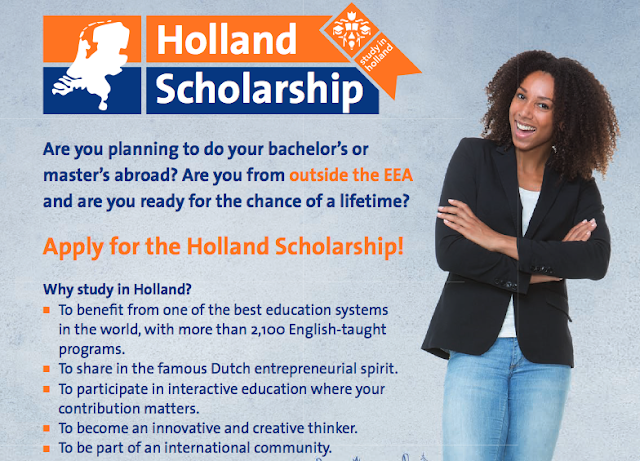 The Erasmus University Holland Scholarship