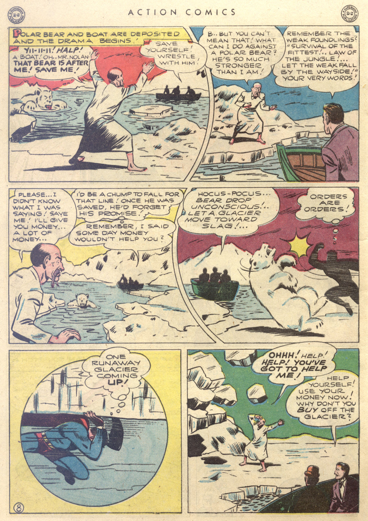 Read online Action Comics (1938) comic -  Issue #88 - 10