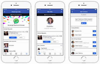 Facebook Introducing Messenger Kids App For Children