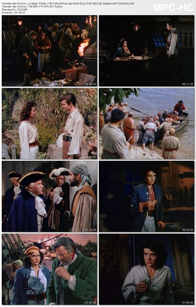 La mujer pirata | 1951 | Anne of the Indies