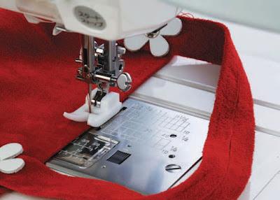 Πόδι ραπτομηχανής  τεφλόν για δύσκολα υλικά