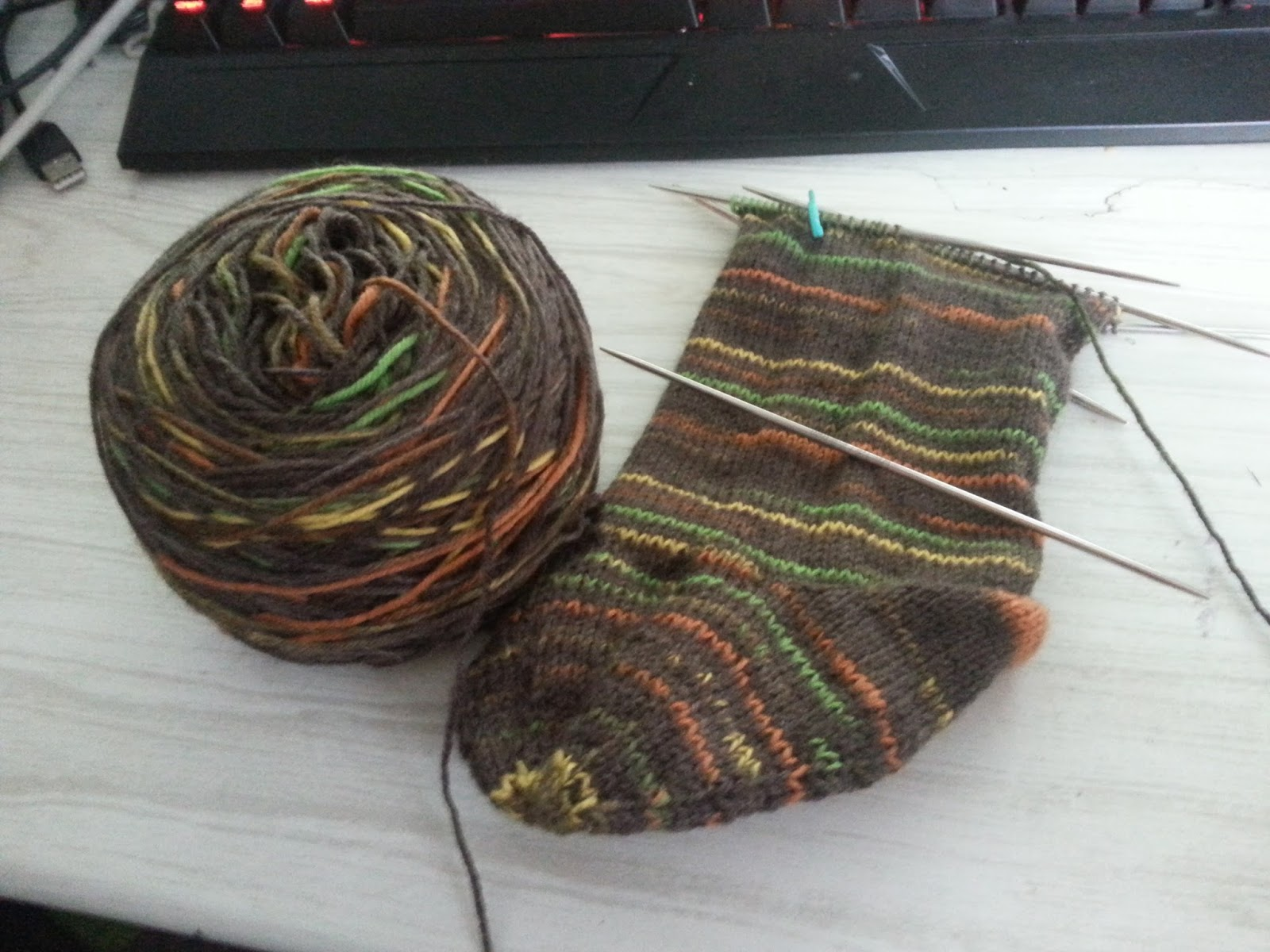 Three river knits february 2016 the second sock went much better and i actually like a lot about the construction i have a feeling ill be doing a full pattern review once im done with bankloansurffo Image collections