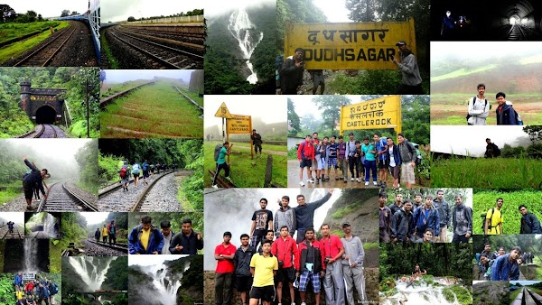 Journey to Dudhsagar Water Falls