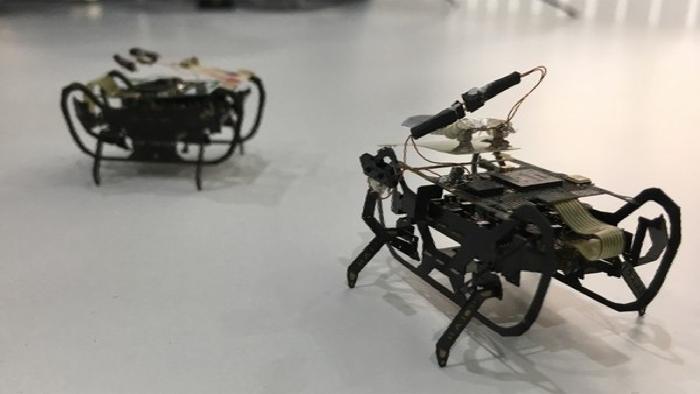 """Rolls-Royce está desarrollando """"un robot insecto"""" para inspeccionar aviones"""