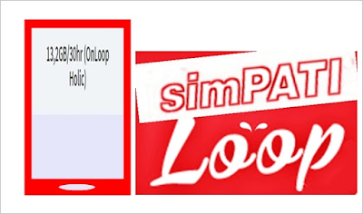Cara Daftar Paket Internet OnLOOP Holic