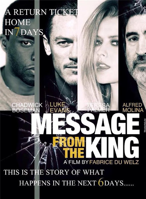 Message From The King in Cinemas on September 20, 2017