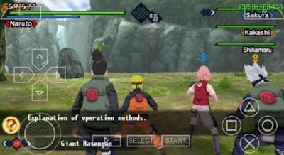 Naruto Shipuden Kizuna Drive ISO