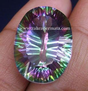 Batu Permata Mistyc Quartz - ZP 431