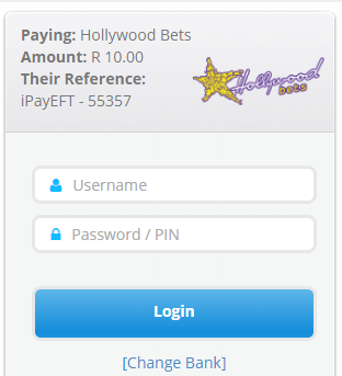 Login to iPAY portal using your Capitec Internet Banking logins - Hollywoodbets
