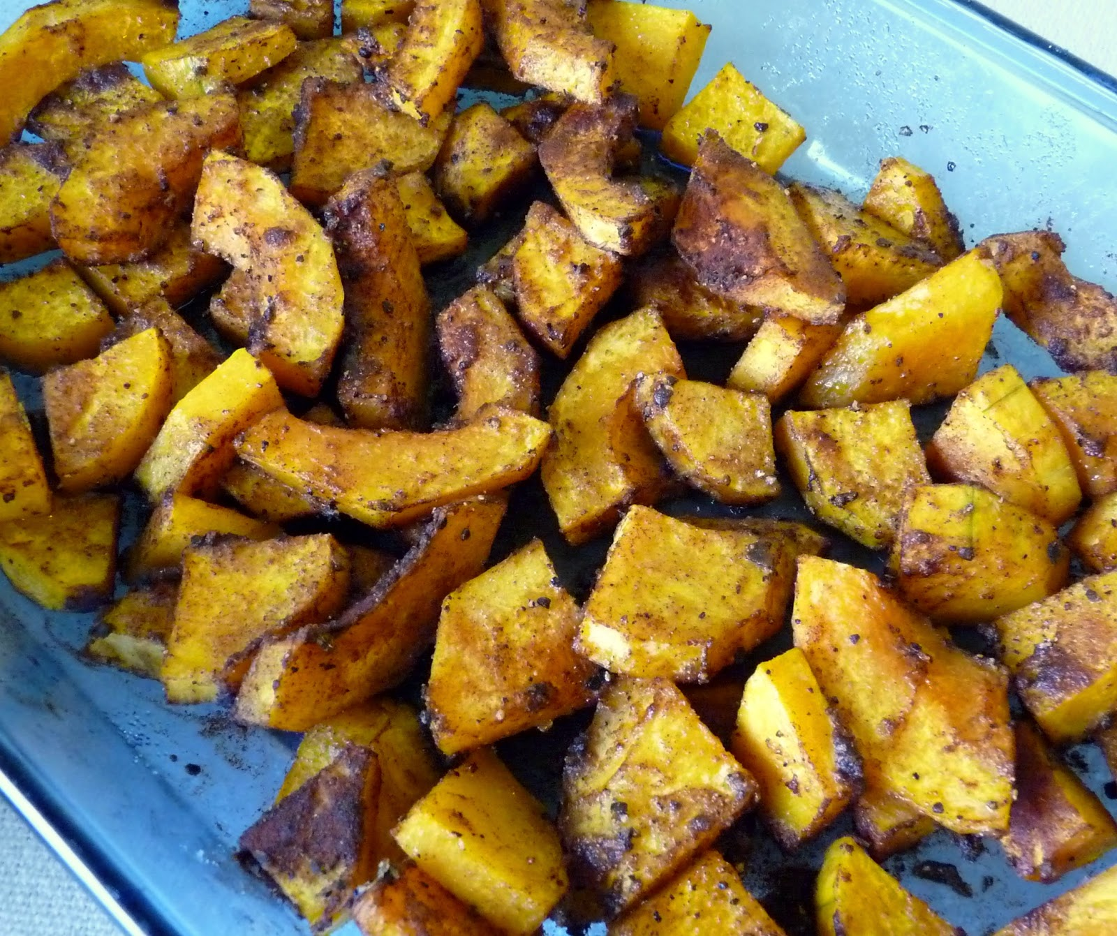 Chai-Spiced Roast Squash