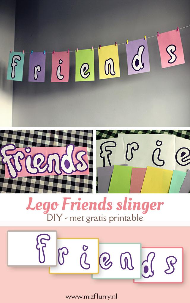 lego friends feestje slingers