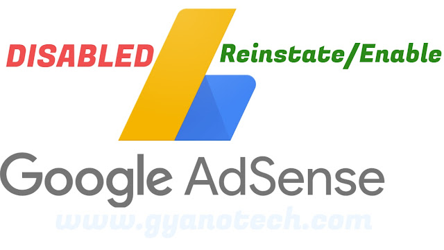 If You Have A DISABLED AdSense Account  So Follow these Instructions 2019