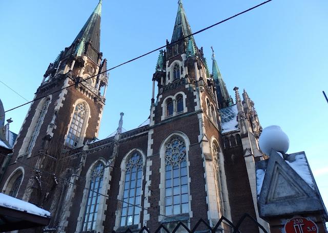 Kościół śś. Olgi i Elżbiety, Lwów.