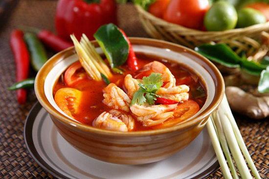 Súp tôm chua cay Thái Lan - Tom Yum
