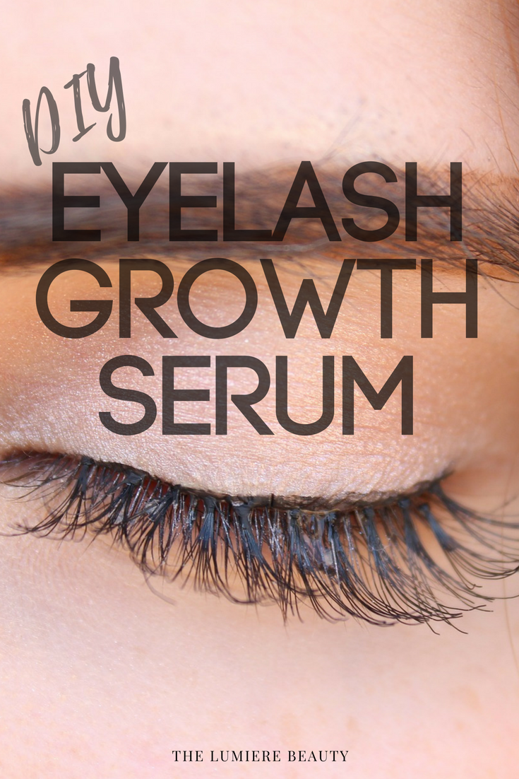 Diy Eyelash Growth Serum The Lumiere Beauty