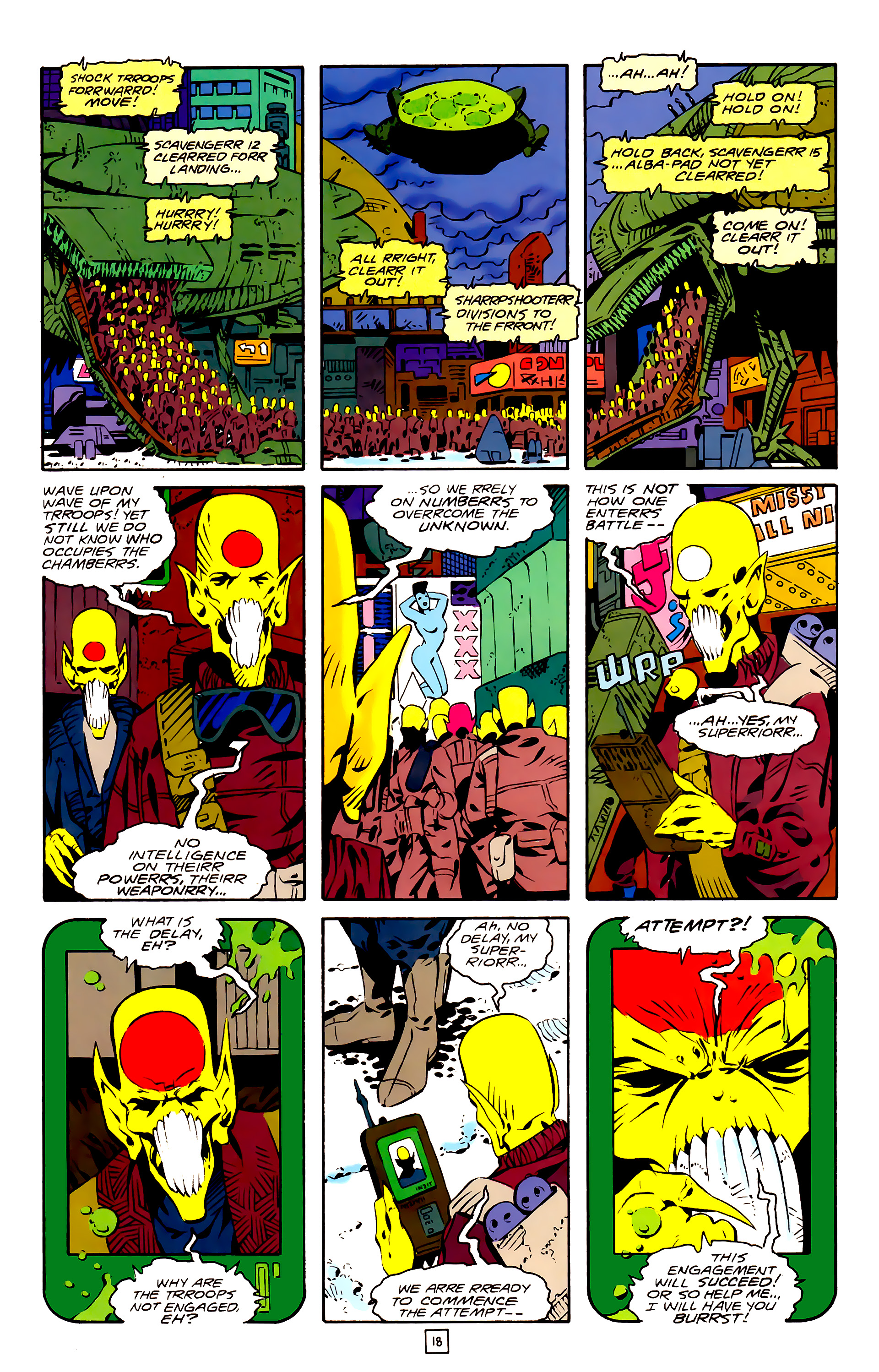 Legion of Super-Heroes (1989) 26 Page 18