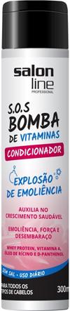 condicionador sos bomba de vitaminas cabelos cacheados